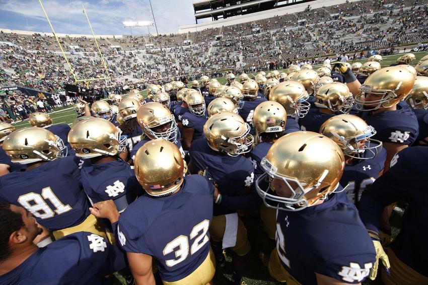 Notre Dame Football Ranking The Shamrock Series Uniforms