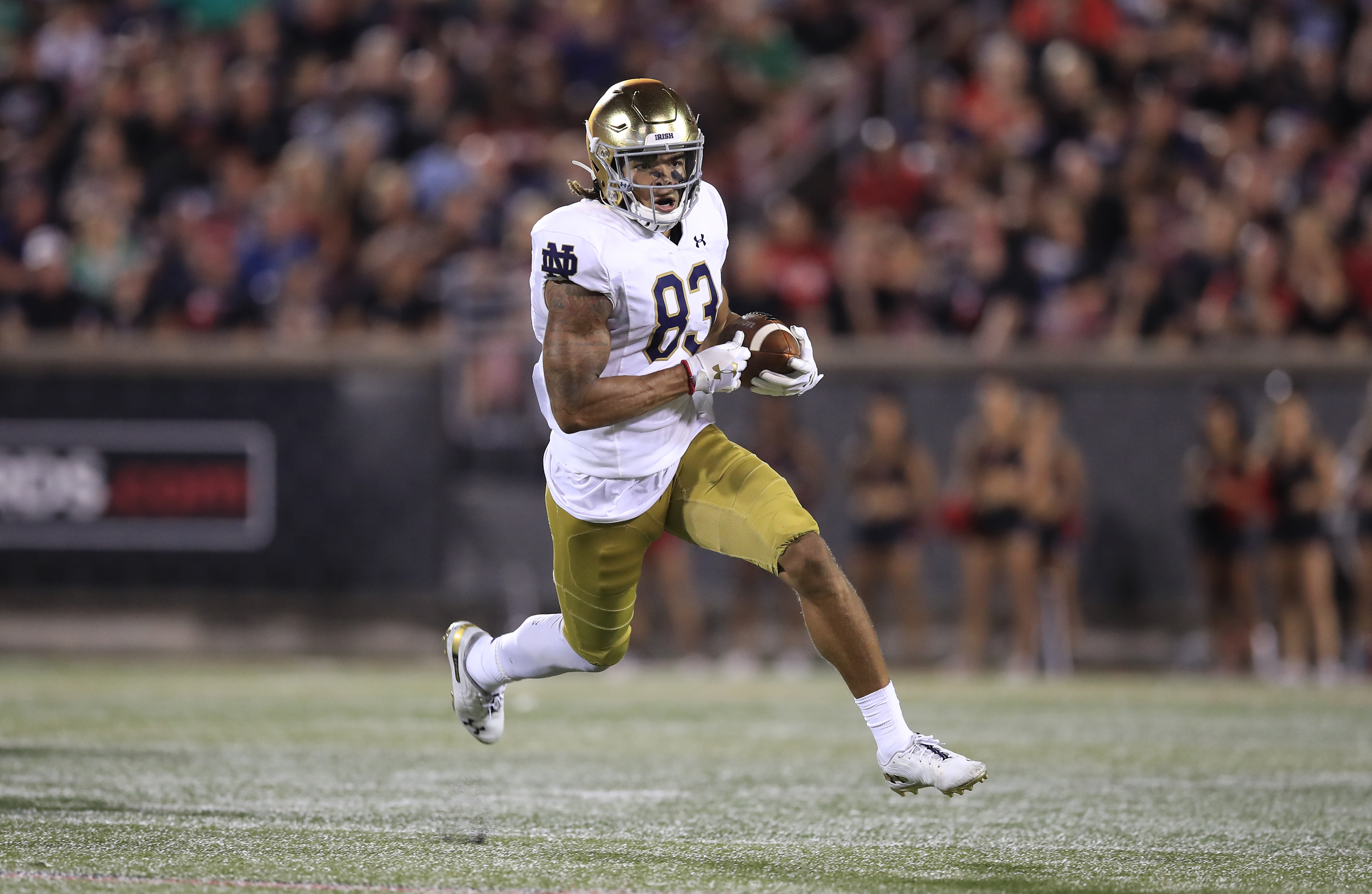 Notre Dame Football Chase Claypool Should Stay At Wide Receiver