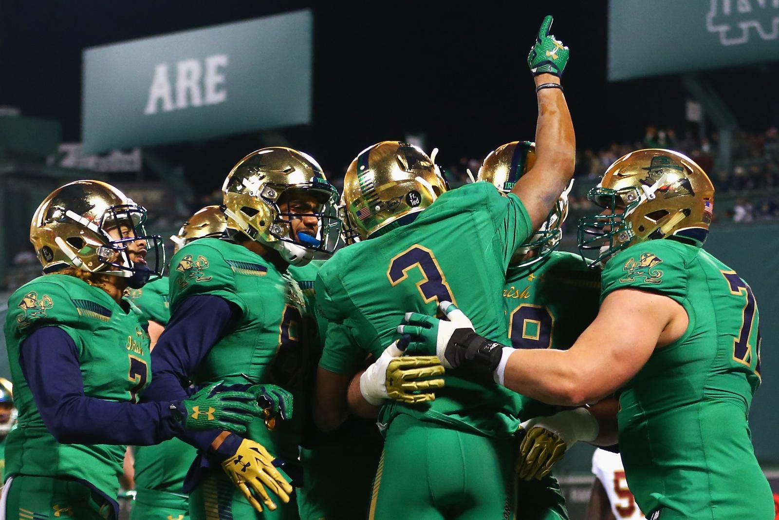 Notre Dame Football: Shamrock Series Uniform Rankings, 2019 ...
