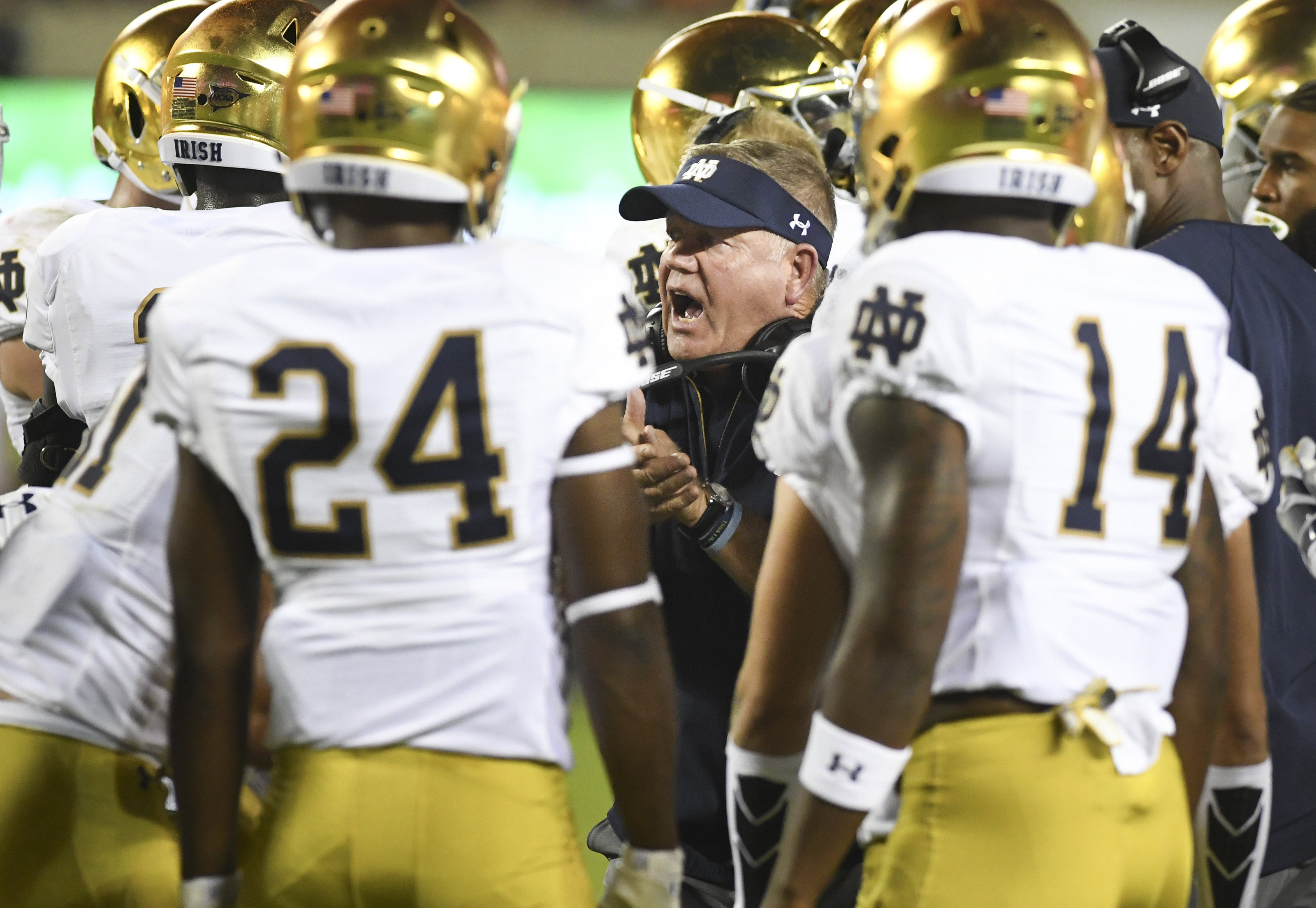 Notre Dame Football A Look At The 2021 Football Schedule