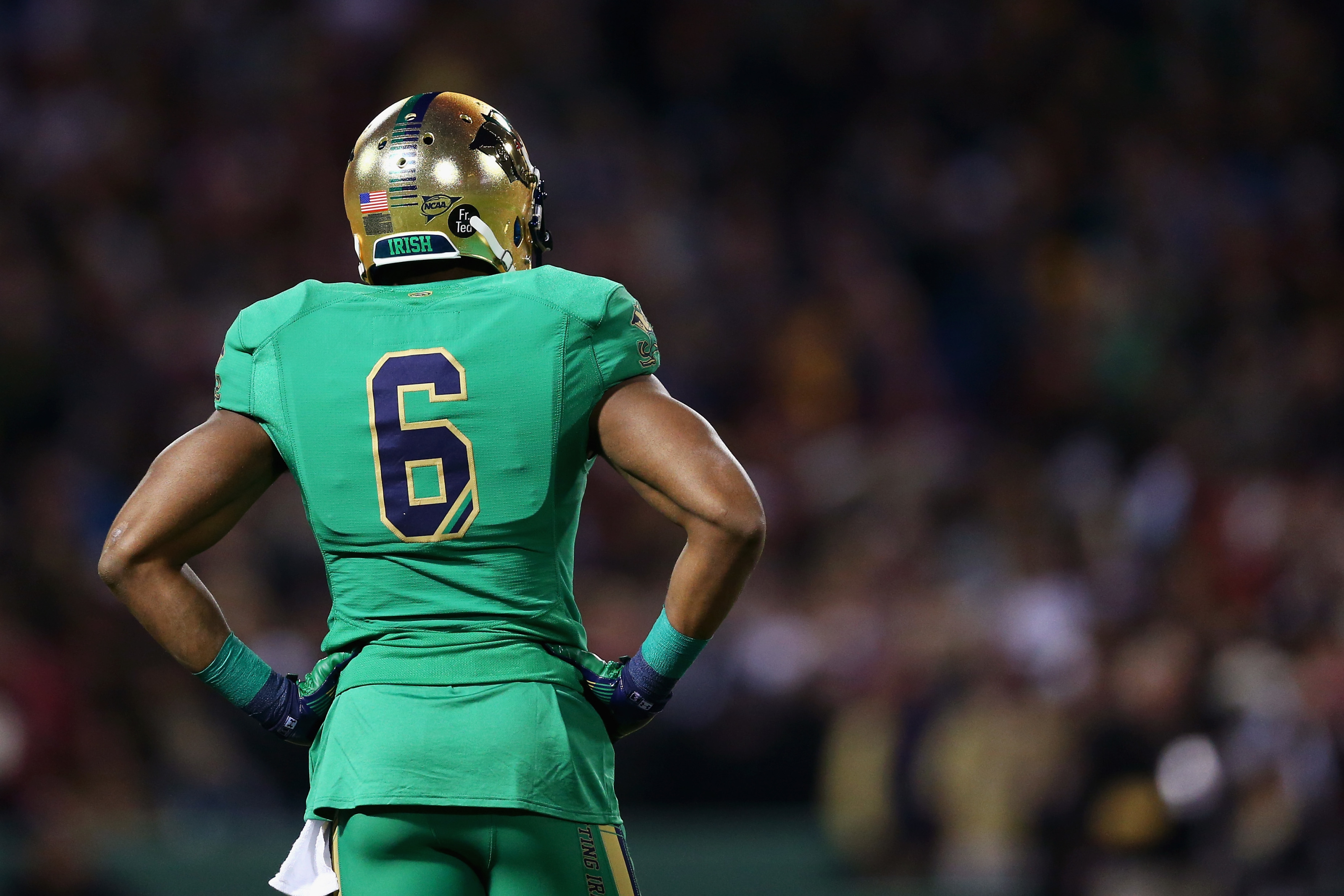 Notre Dame Football: The Definitive Shamrock Series Uniform Rankings