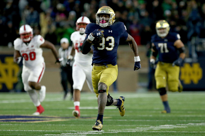 Notre Dame Football All Decade Team Running Back