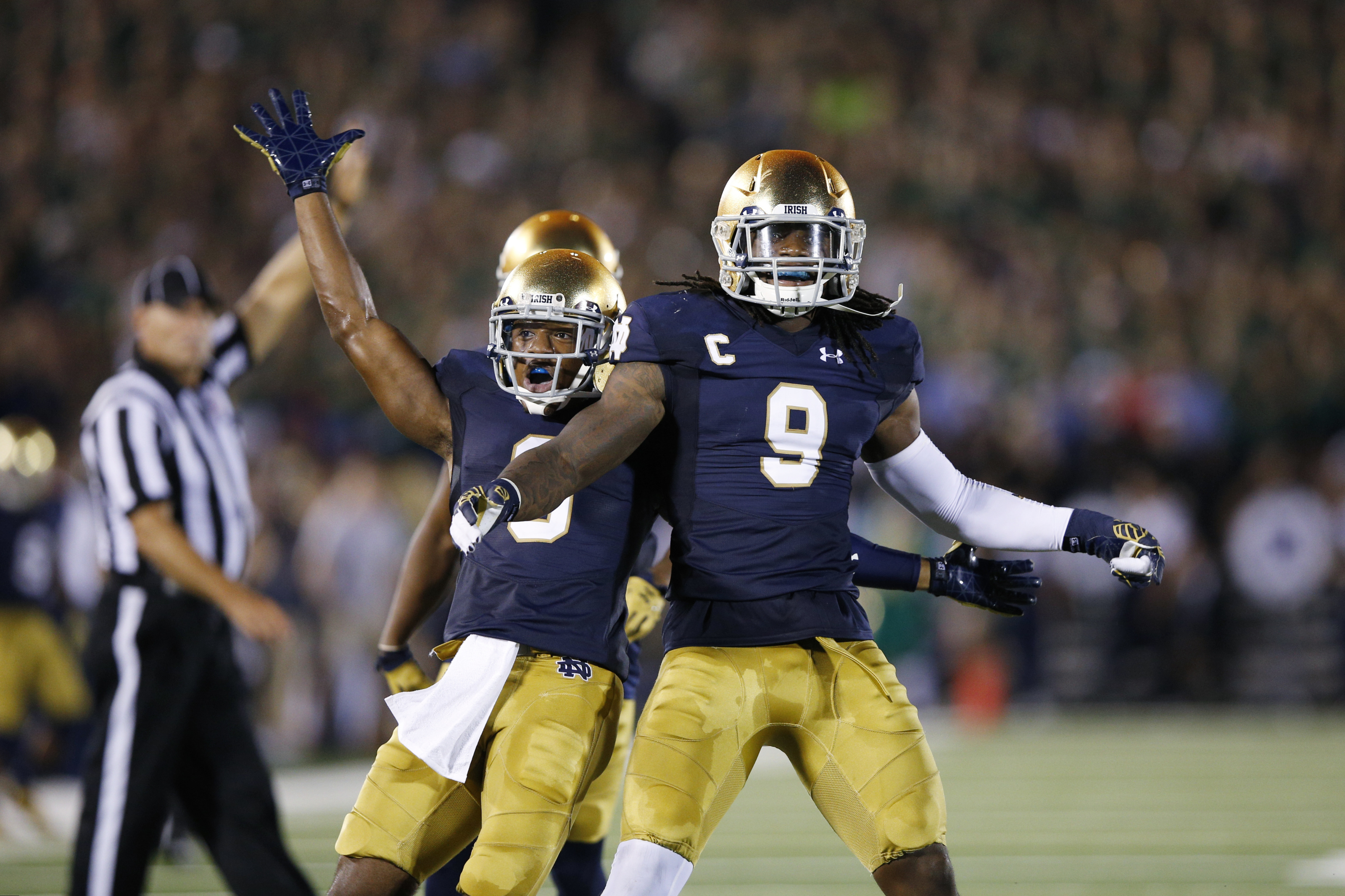 Notre Dame Football: Jaylon Smith must really love the No. 9