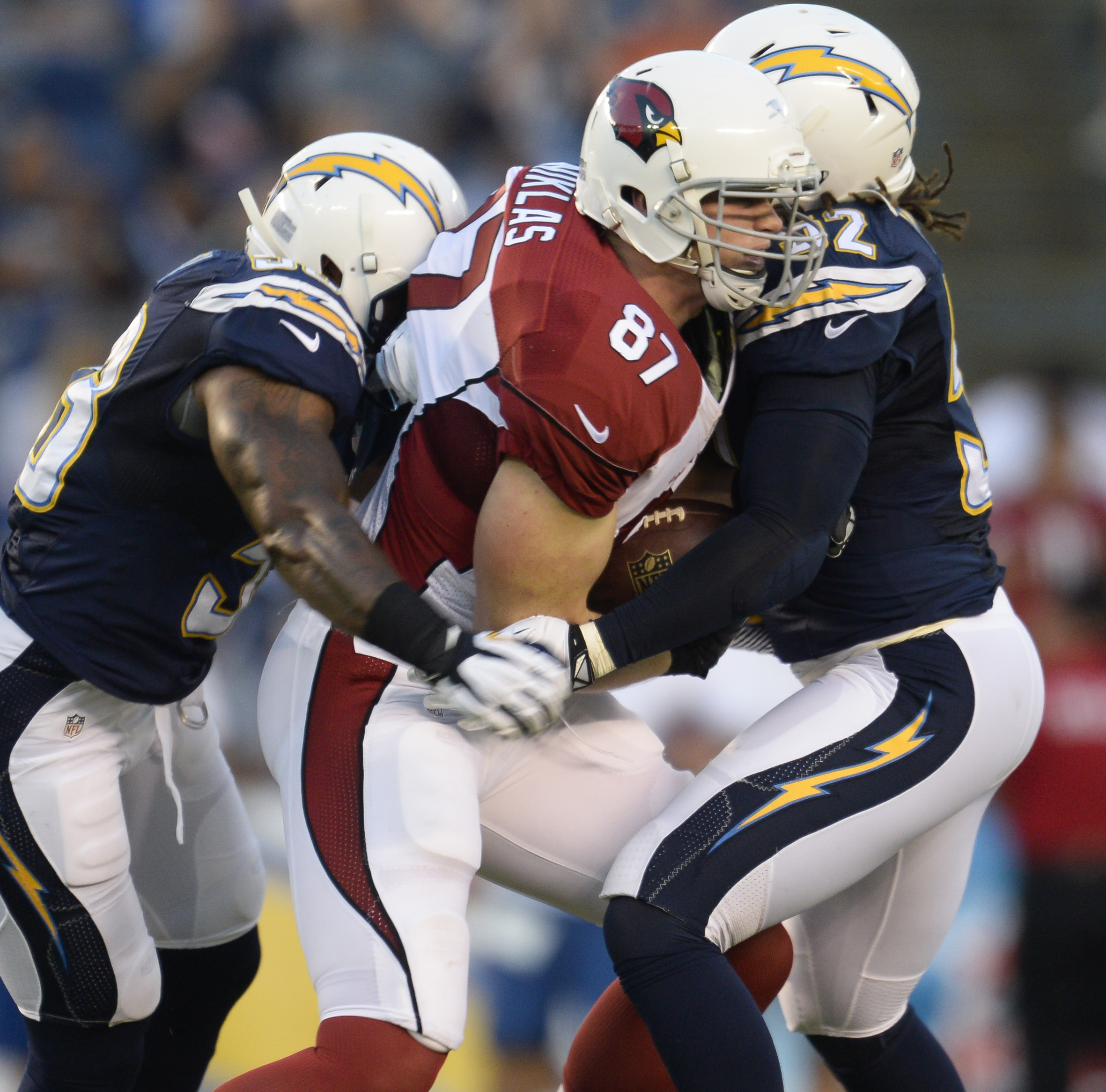 San Diego Chargers Cardinals: Former Notre Dame Tight End Oscar McBride Talks Servite