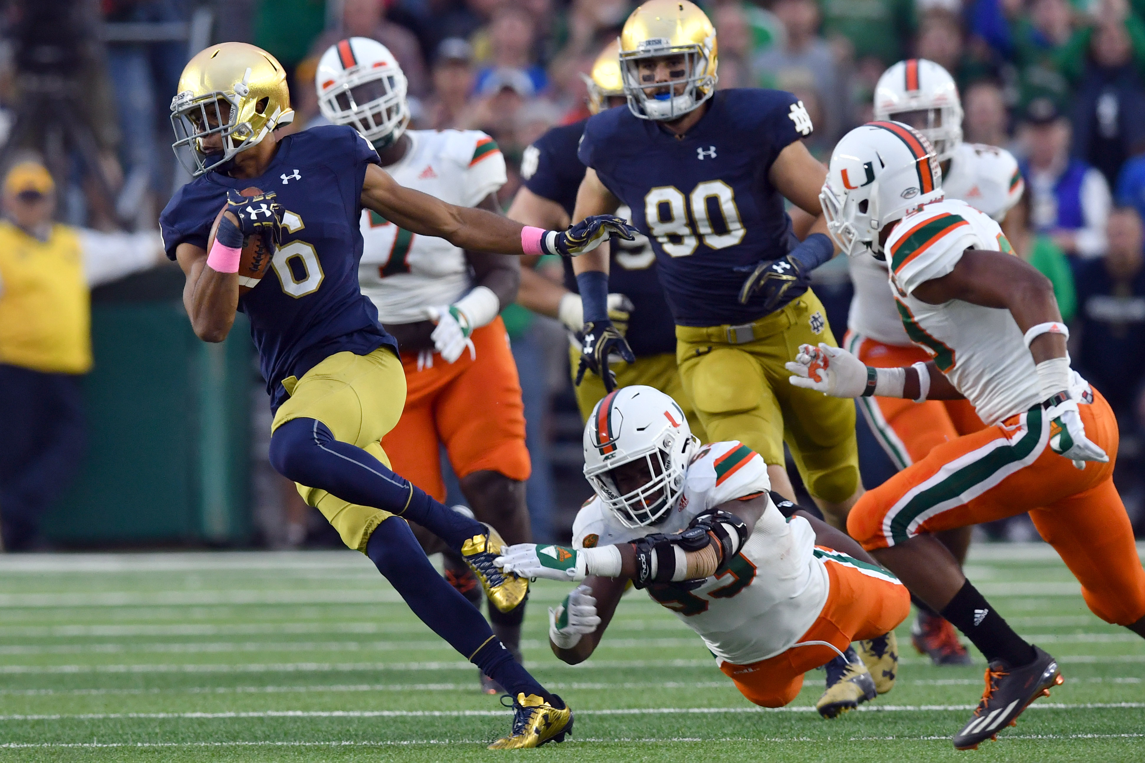 Top 5 notre dame players who will enter the 2018 nfl draft - Notre dame football wallpaper ...
